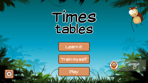 Time Tables Jungle App for Grade 3 [FREE]