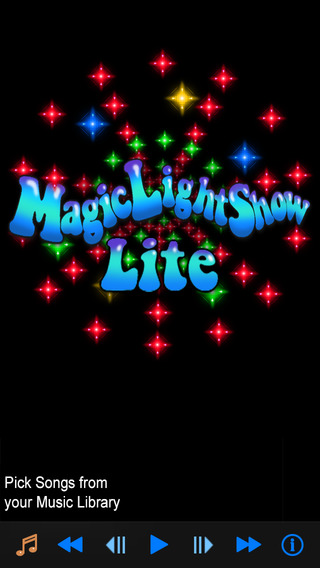 【免費音樂App】Magic Light Show Lite-APP點子