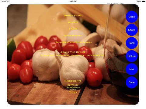 Realtime Recipes