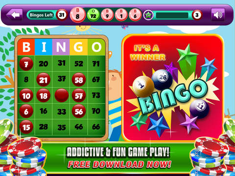 Bingo Lucky 8 – A Simple Bingo Card Game Suitable for Everyone to Play for FREE !