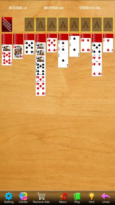 Screenshot 2 Solitaire Карточные игры HD бесплатно (4 в 1)