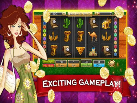 Ancient Egyptian Pharaoh Casino HD screenshot 5