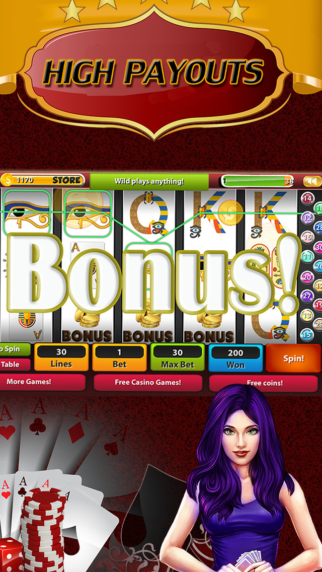 Screenshot 4 A Big Pharaoh's Win — Лучшие бесплатные игровые автоматы и бонусные игры