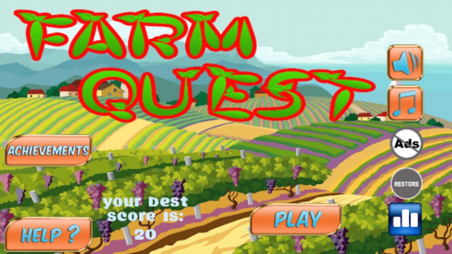 Farm Quest - Story Of Plants And Hay Heroes