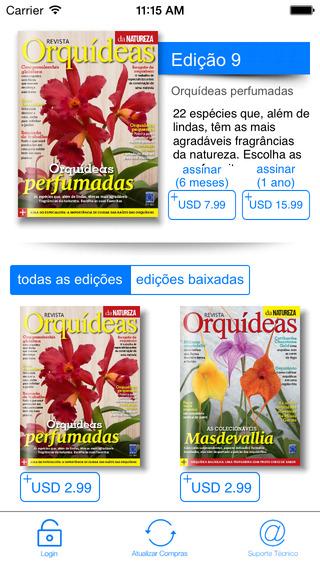 Revista Orquídeas da Natureza