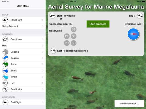 Aerial Survey for Marine Megafauna