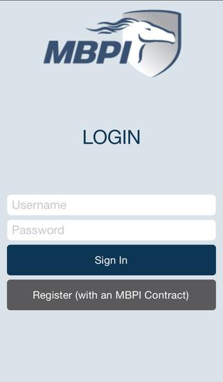 MBPI Mobile App