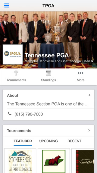 Tennessee Section of the PGA