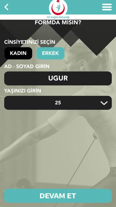 Screenshot for Formda Kal Türkiye in Turkey App Store