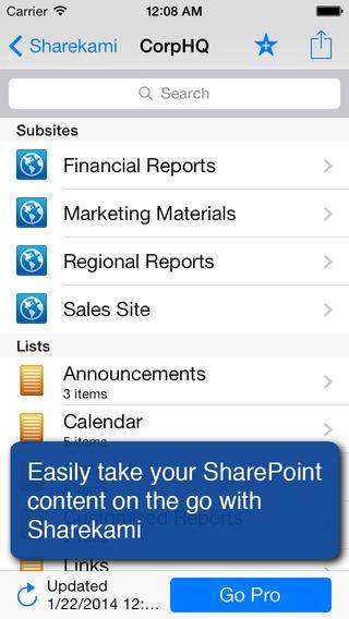 Sharekami - SharePoint Client