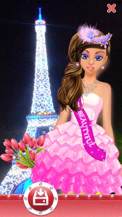 Dress up games for girls kids free fun beauty salon with fashion spa makeover make up app Beauty avenue fashion style fun