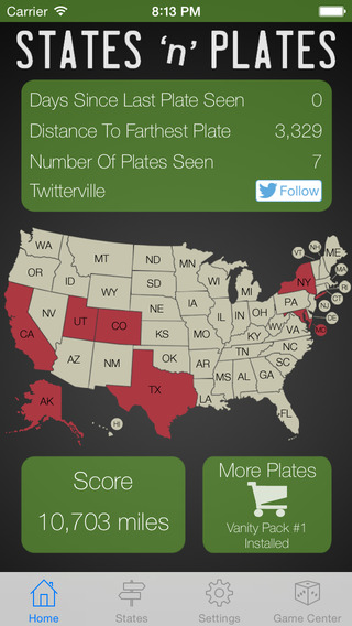 States And Plates A License Plate Game