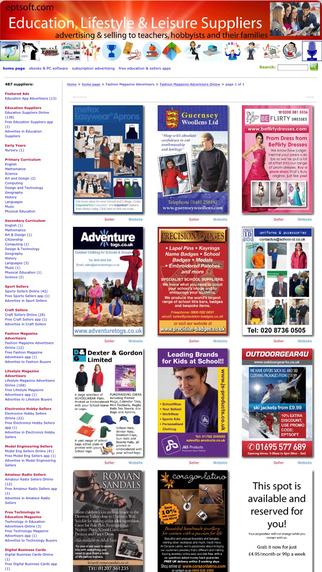Fashion Magazine Advertisers