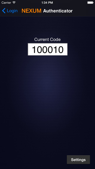 NEXUM Authenticator