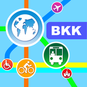 Bangkok City Maps – Discover BKK with MRT, Bus, and Travel Guides.[iOS]