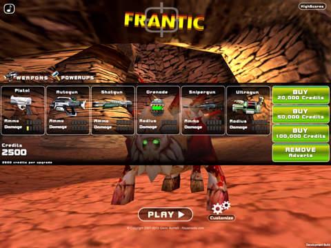 Screenshot #4 for Frantic: Monster Shooter!