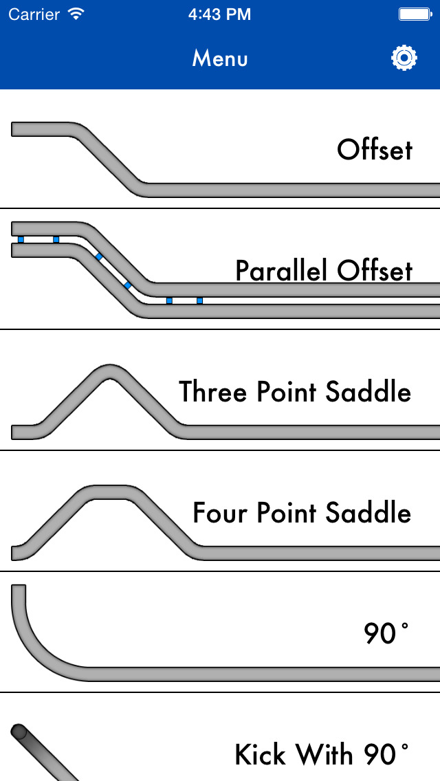 conduit bending radius chart