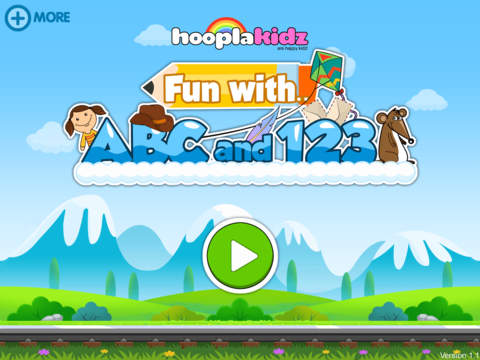 HooplaKidz Fun with ABC and 123 screenshot 1