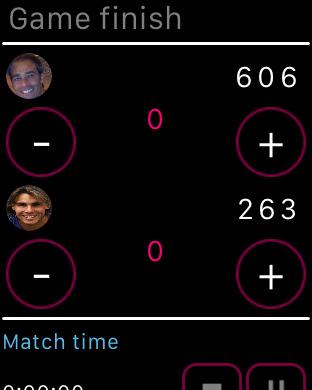 Tennis Scores Screenshots
