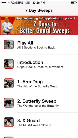 7 Days to Better Guard Sweeps by Stephan Kesting and Grapplearts.com. A Complete Guard Sweeping Stra