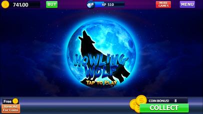 Screenshot 4 Howling Wolf: Spirit of the Moon Vegas Slots