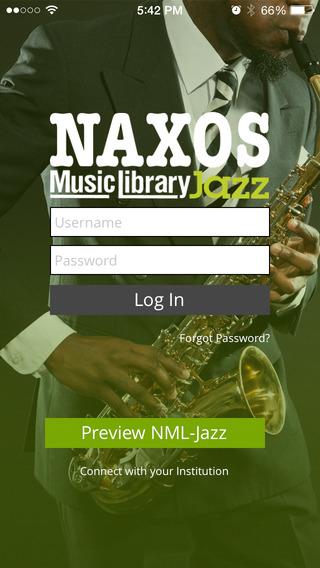 NML Jazz iPhone Screenshot 1