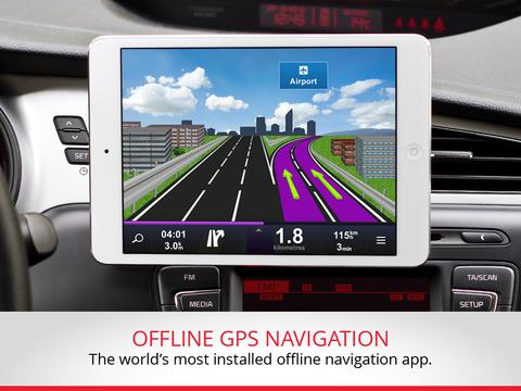Sygic Aura Drive Italy GPS Navigation iPad Screenshot 1