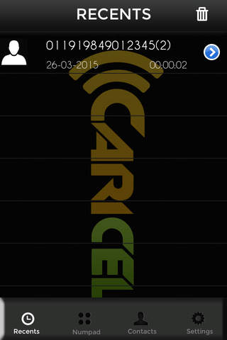 Caricel screenshot 4