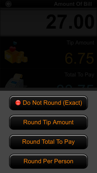 Cool Tip Calculator iPhone Screenshot 4