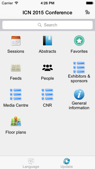 玩免費醫療APP 下載ICN 2015 Conference app不用錢 硬是要APP