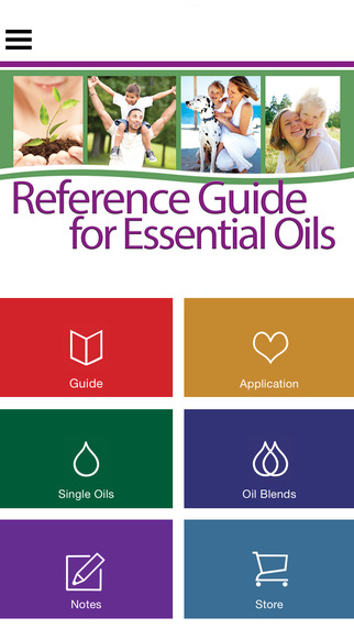 Ref Guide for Essential Oils