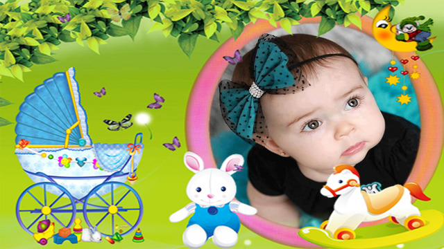 Cutie Baby Photo Frames