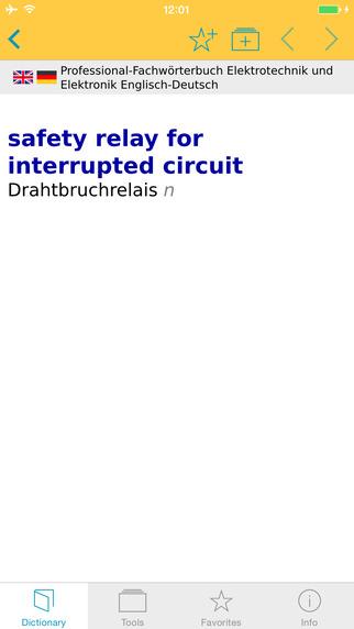 Elektrotechnik und Elektronik EnglischDeutsch Fachwörterbuch Professional