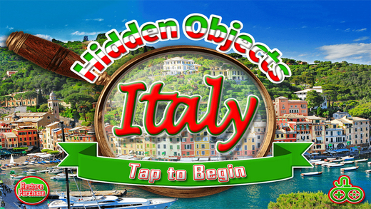 Italy Adventure Find Objects - Hidden Object Time Spot Difference Puzzle Games