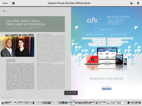 Magazine Destino Punta del Este Official Book