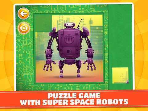 玩免費娛樂APP|下載Super Space Robots Puzzle Game - Free app不用錢|硬是要APP