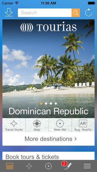 Dominican Republic Travel Guide - TOURIAS Travel Guide free offline maps