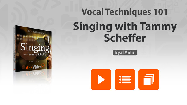 Vocal Techniques with Tammy Scheffer