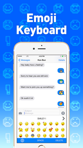 Emoji Keyboard - Extra Emojis Right on your Keyboards