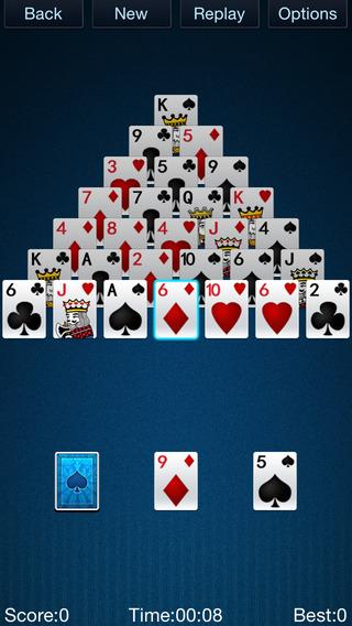 Pocket Pyramid Solitaire