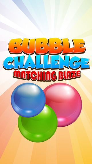 Bubble Blaze Matching Challenge