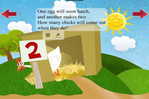 iphone Farm Friends: First Numbers and Animals Screenshot 2
