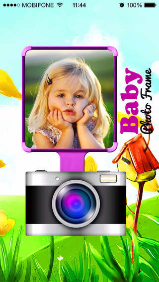 Ghep Anh Baby - Frame Collage