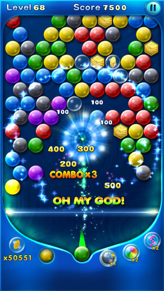 【免費遊戲App】Bubble Smash Mania-APP點子