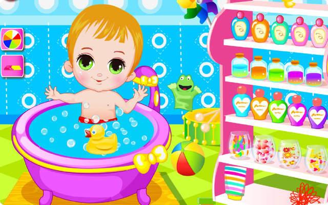 可爱宝宝洗澡 hd