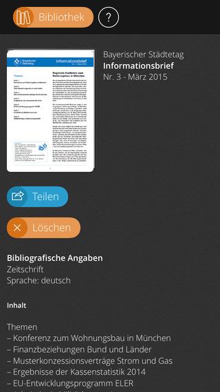 Informationsbrief