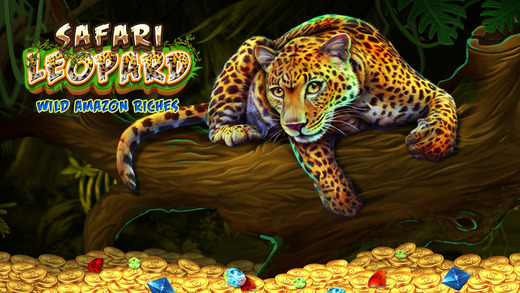 Pokies Safari Leopard: Wild Amazon Riches - PRO 777 Slot Machine Game