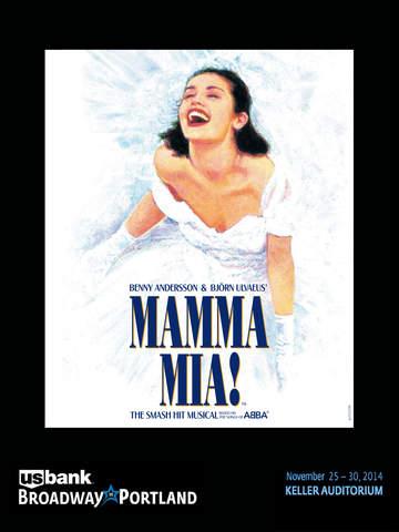 Broadway in Portland presents Mamma Mia