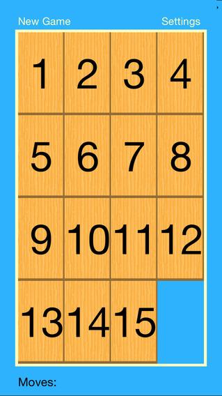 Square Puzzle iPhone Screenshot 1