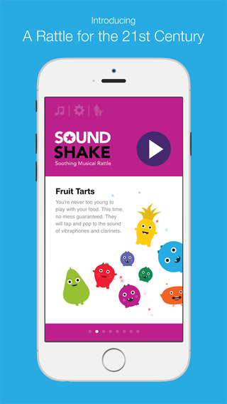 Sound Shake: The Soothing Musical Rattle for Babies and Toddlers